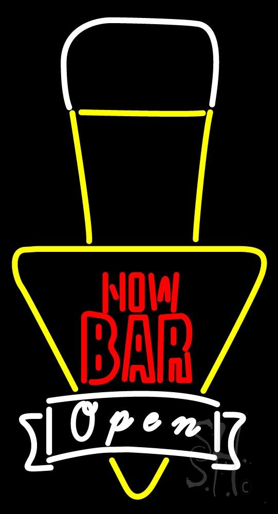Now Bar Open Neon Sign | Bar Open Neon Signs - Every Thing