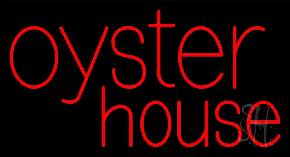 oyster house 1 neon sign oysters neon signs every thing neon. Black Bedroom Furniture Sets. Home Design Ideas