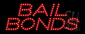 Bail Bonds LED Sign