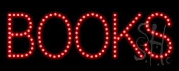 Books LED Sign