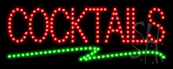 Cocktails LED Sign