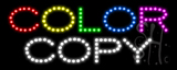 Color Copy LED Sign