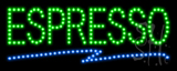 Espresso LED Sign