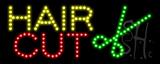 Hair Cut LED Sign