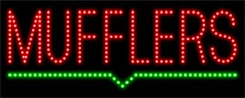 Mufflers LED Sign