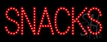 Snacks LED Sign