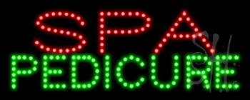 Spa Pedicure LED Sign