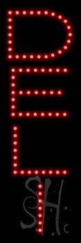 Deli LED Sign