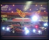 Haileys Diner LED Poster