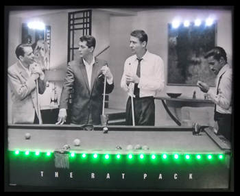 Rat Pack LED Poster