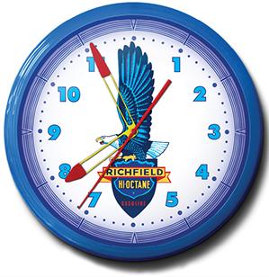 Richfield Octane 20 Inch Neon Clock