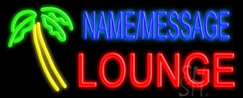 Custom Palm Tree Lounge Neon Sign