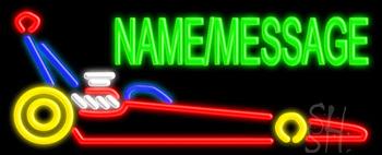 Custom Dragster Neon Sign