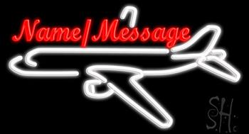Custom Aeroplane Neon Sign
