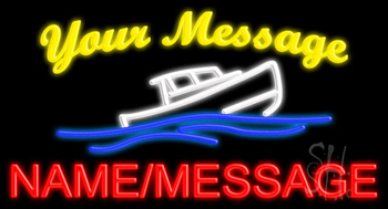 Custom Ship Neon Sign