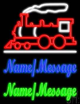 Custom Train Engine Neon Sign