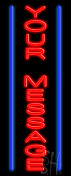 Custom Vertical Lines Neon Sign