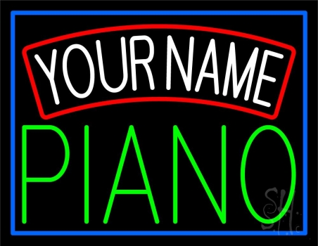Custom Piano Block Neon Sign