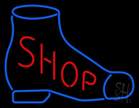 Shoe Shop Neon Sign