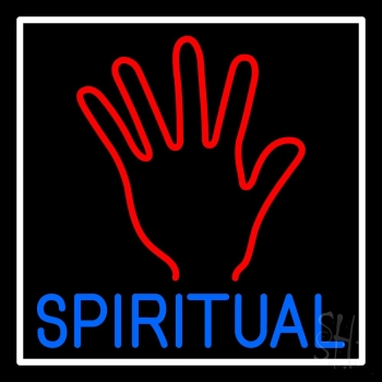 Blue Spiritual Neon Sign
