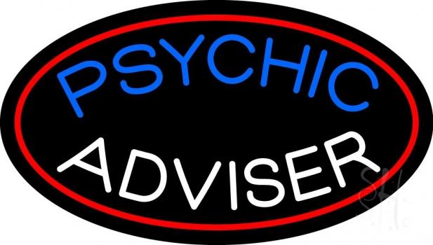 Psychic Advisor Neon Sign