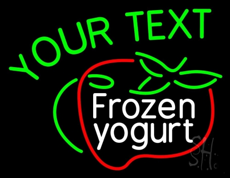 Custom Frozen Dessert Neon Sign