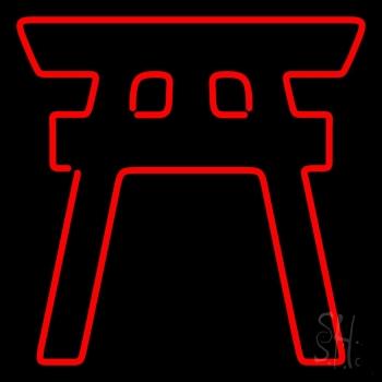 Shinto Neon Sign