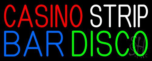 Casino Strip Bar Disco Neon Sign