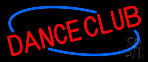 Dance Club Neon Sign