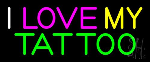 I Love My Tattoo Neon Sign