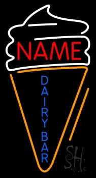 Custom Dairy Bar Neon Sign