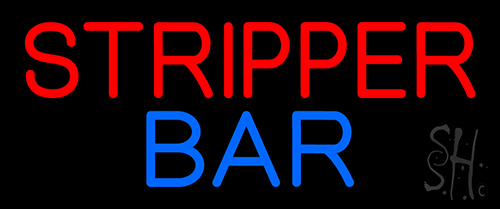 Stripper Bar Neon Flex Sign