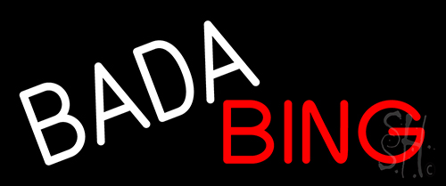 Bada Bing Neon Sign