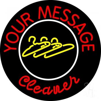 Custom Cleaner Neon Sign