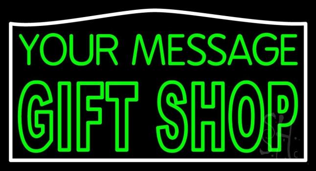 Custom Gift Shop Neon Sign