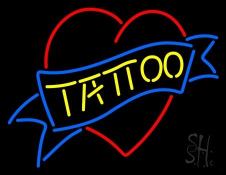 Tattoo Inside Heart Neon Sign