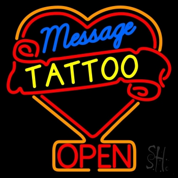 Custom tattoo neon sign custom neon signs every thing neon for Neon tattoo signs