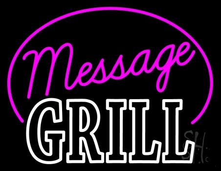 Custom Grill Neon Sign