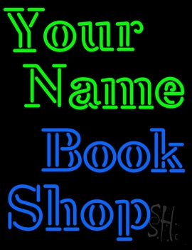 Custom Book Shop Neon Sign