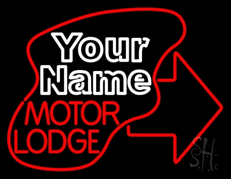 Custom Motor Lodge Neon Sign