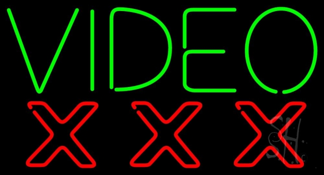 Video triple x neon sign strip club neon signs every thing neon video triple x neon sign solutioingenieria Gallery