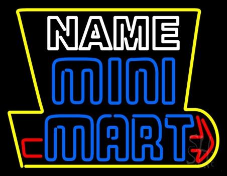 Custom Mini Mart Neon Sign