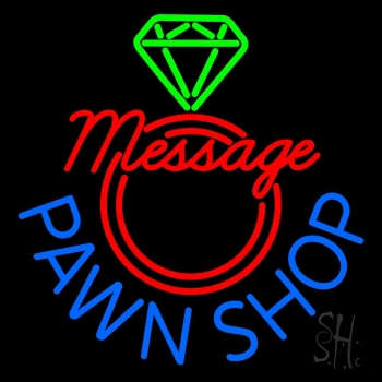 Custom Pawn Shop Neon Sign