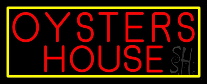 oyster house block 1 neon sign oysters neon signs every thing neon. Black Bedroom Furniture Sets. Home Design Ideas