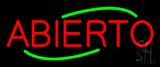 Deco Style Abierto Neon Sign