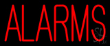 Red Alarms Neon Sign