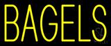 Yellow Bagels Neon Sign