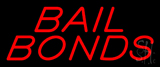 Red Bail Bonds Neon Sign