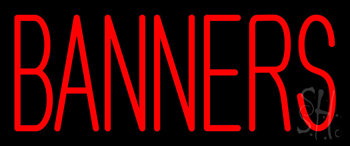 Banners Neon Sign
