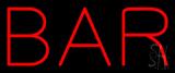 Bar LED Neon Sign